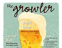 The Growler, Magazine Design