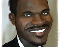 Olu caricature