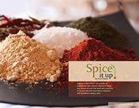 Spice it up! Magazine Spread