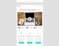 Satria, Responsive Email with Template Builder