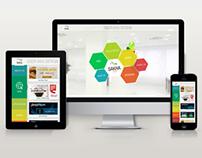 Website design: Sakhatech microsite