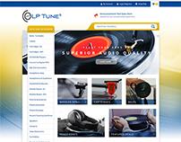 LP Tunes | e-Commerce Website Design