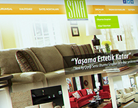 Sina Mobilya Web Design / Sina Furniture Web Design #1
