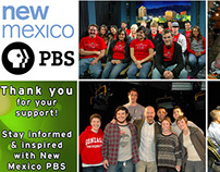 New Mexico PBS - Thank You Collage