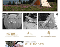 Sheridan Tent | e-Commerce Website Design