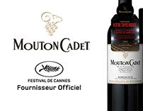 Mouton Cadet Festival de Cannes Promotion