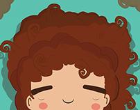 El niño de pelo Gracioso