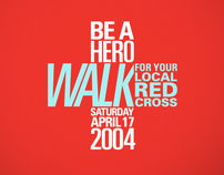 Red Cross Walk Campaign