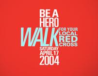 Red Cross Walk Campaign