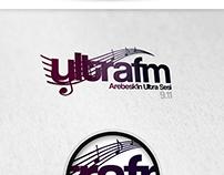 ULTRAFM Creative Logo Design