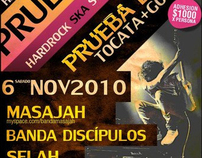 Flyer- Prueba Esto; Gospel & Worship concert (2010)