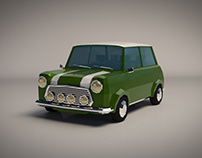 Low Poly Small Car