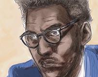 Bayard Rustin portrait