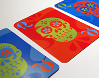 Typographic Illustration / Playing Cards