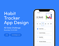 XD Daily Challenge - Habit Tracker