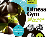 Fitness Gym Promotion Flyer