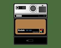 KODAK EK 100 / Instact Camera / Polaroid