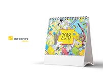 календарь Интерпайп / calendar Interpipe