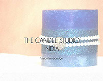 The Candle Studio | Website Re-design