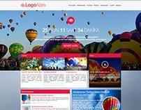 Turkey Balloon Fiesta Web Design