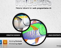 Rhodeus Creative Logo Design