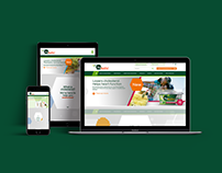 Flora pro.activ Parallax Responsive Website UX Design