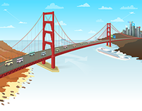 Illustrated Website Motif