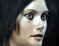 Girl Portrait - Render