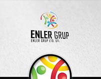 Enler Group Creative Logo Design