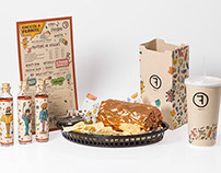 Freebirds Packaging Rebrand