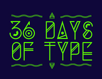 36 days of type.