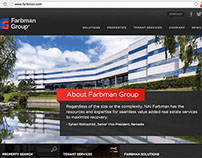 Copywriting & Graphic Design Contributions for FG Site