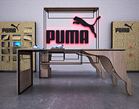 PUMA [STORE FURNITURE]