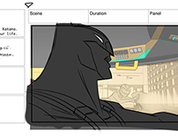 "Beware the Batman: ""Attraction"" Storyboards"