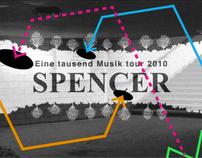 Spencer - screen movie for live