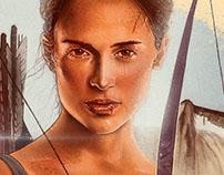 Tomb Raider alternative movie poster v.2