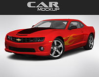 Download Car Mock-up Free