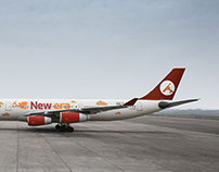 New Era Airlines Branding
