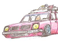 Chevette Hatch e Kart Mini