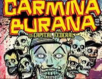 Carmina Burana gig poster
