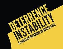 Deterrence Instability book design