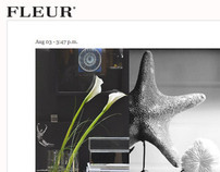 Fleur Luxury Living - Restyling 2011 sito web