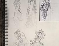 Master Studies - Alphonse Mucha