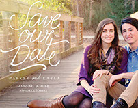 Kayla & Parker – Wedding Print Pieces