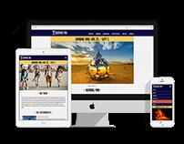 Burning Man Responsive Web Design