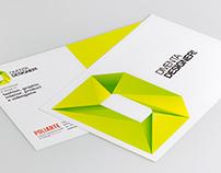 """Promotional Postcard """"Diventa Designer!"""""""