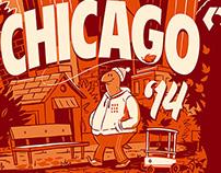 ROSCon Chicago Tshirt
