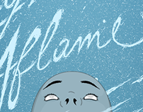 My mind's aflame - Ilustração/lettering