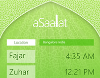 aSaalat Windows Phone App