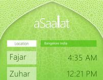 aSaalat Windows Phone App